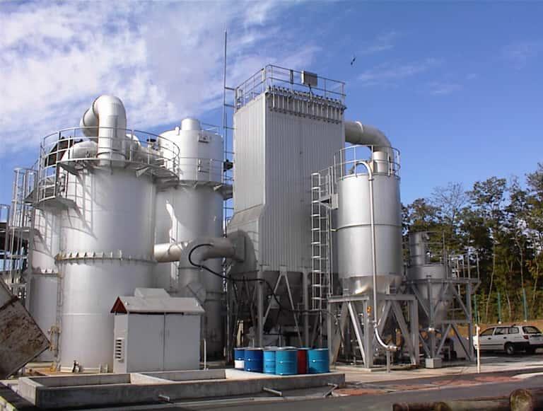 炉排ガス処理装置
