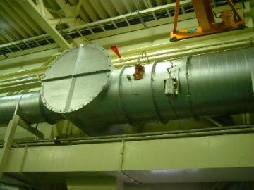 グラインダー用バグフィルタ集塵機によるワーク漏れ防止