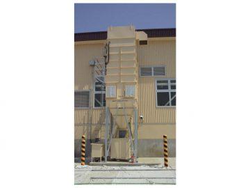 パネルソー用乾式防爆集塵機の導入