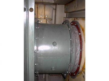 排風機における防音・防振対策