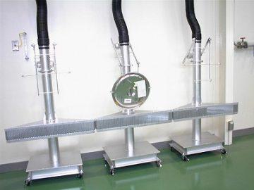 計量装置用バグフィルタ集塵機による作業効率改善
