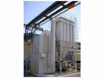NC加工機用バグフィルタ集塵機による作業効率改善